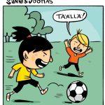 Kotimaista sarjakuvaa – kerrankin lapsille