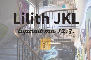 Lilith avaa ovensa Jyväskylään