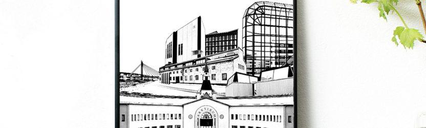 Kaupunkikuvien sarjasta kuvataiteen brändiksi – Jussi Lahtinen